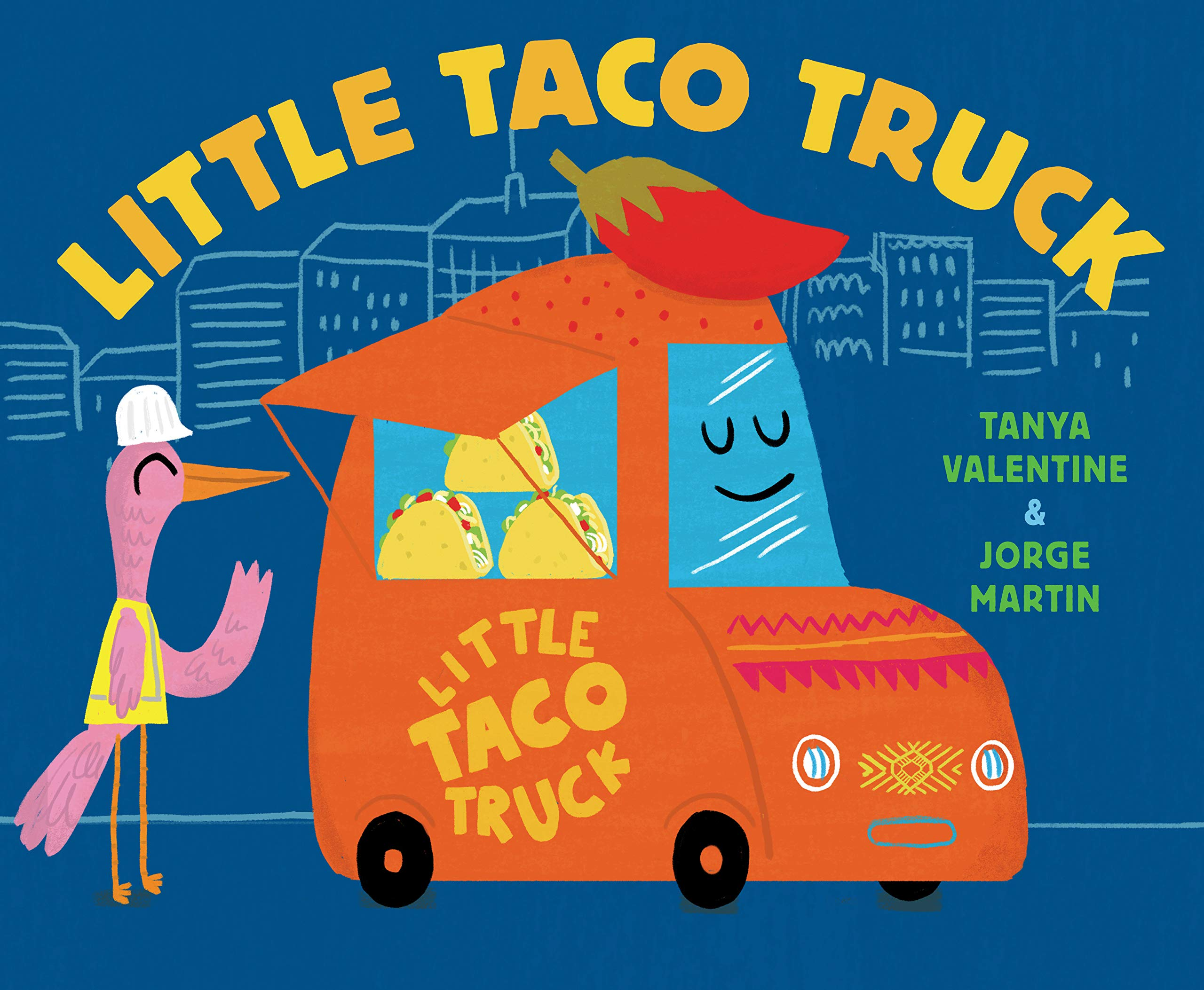 Little Taco Truck book cover