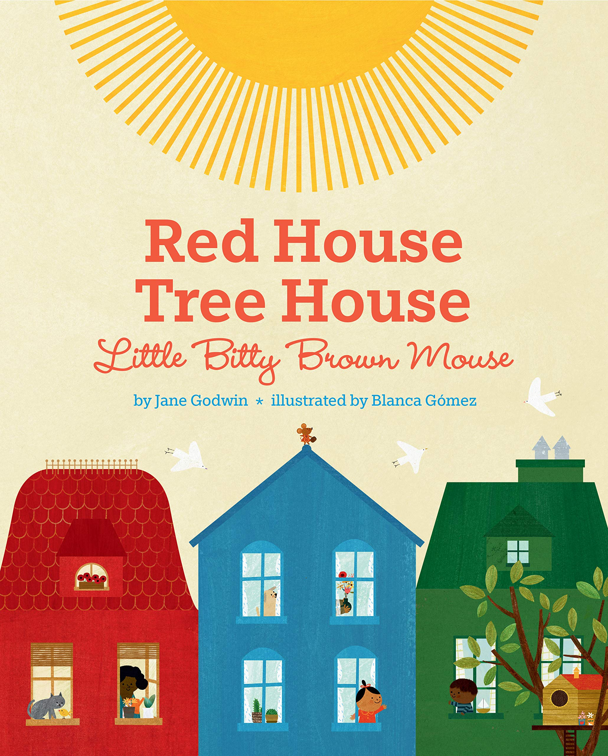 Red House Tree House Little Bitty Brown Mouse book cover