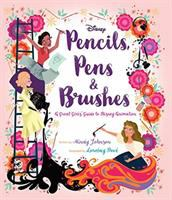 "cover of ""Pencils, Pens & Brushes"""