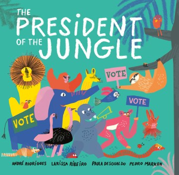 "cover of ""The President of the Jungle"""