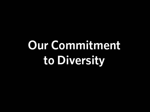 Our Commitment to Diversity