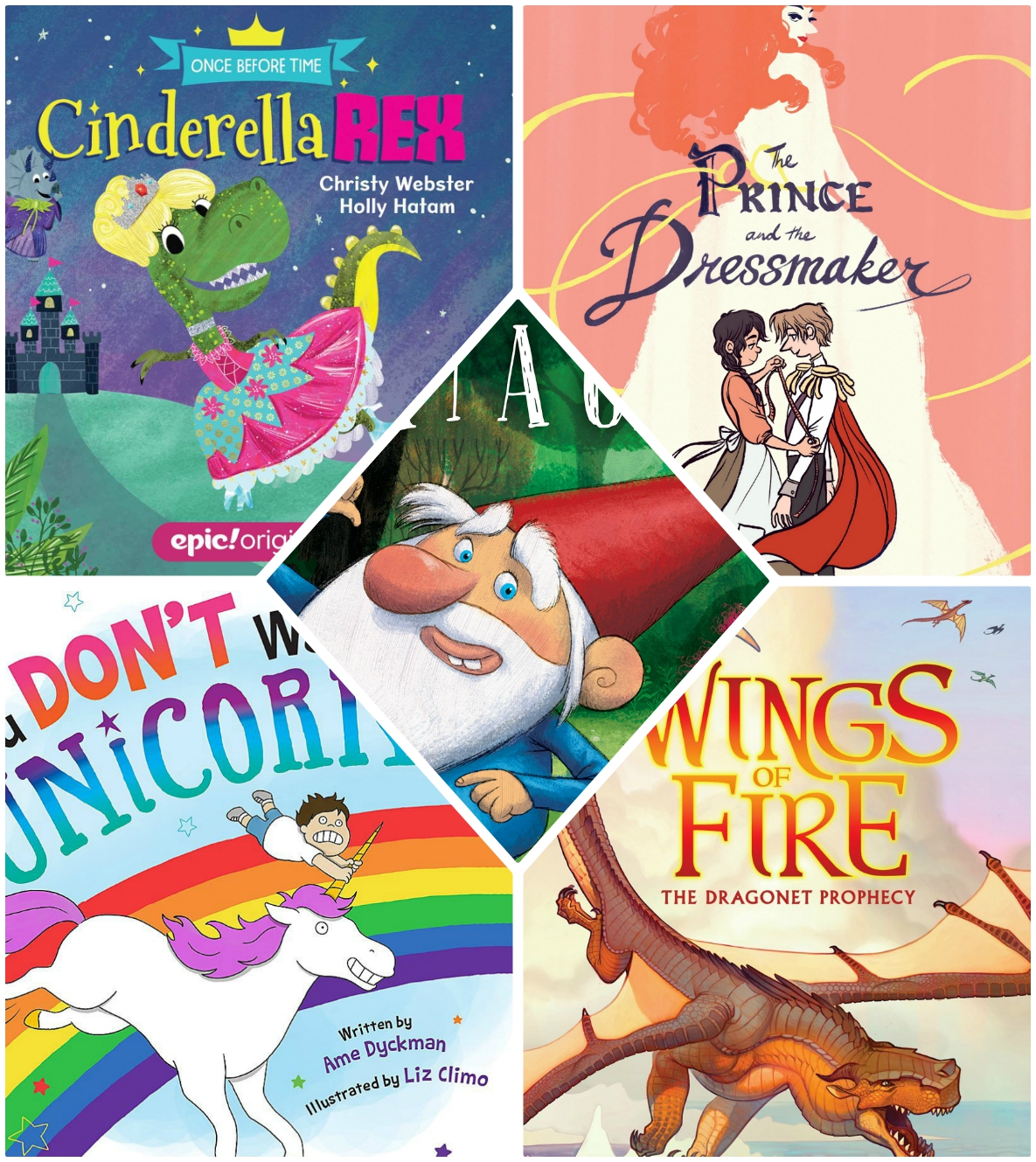 SR book collage