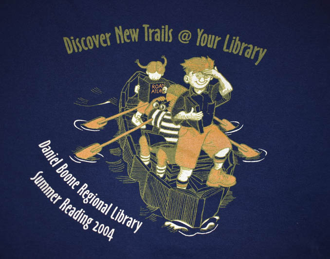 2004 - Discover New Trails @ Your Library