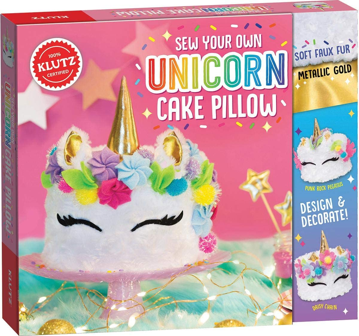 Cover of Unicorn Cake Pillow Box