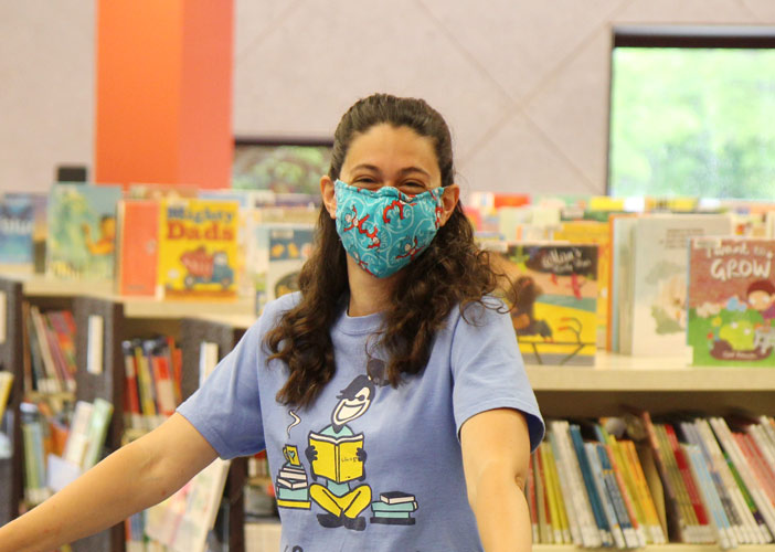 Visiting Your Library During the Pandemic