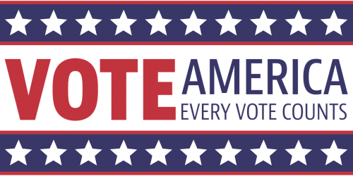 Vote America Banner