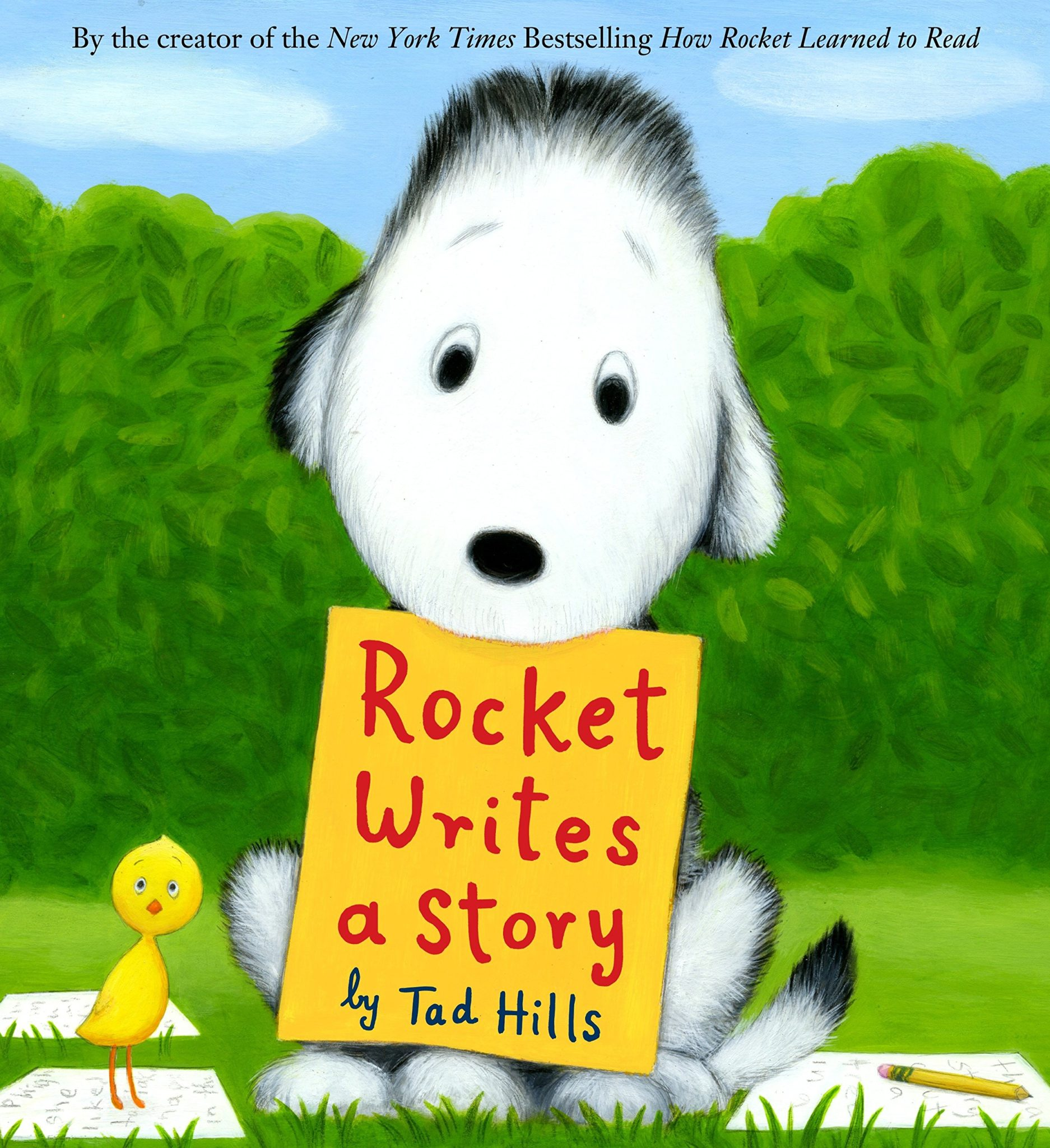 "Tad Hills' ""Rocket Writes A Story,"""