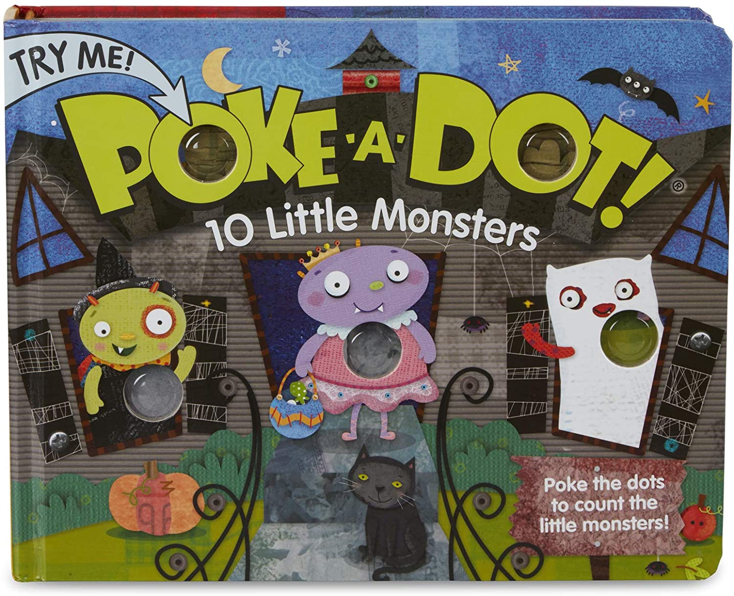 oke-A-Dot, 10 Little Monsters
