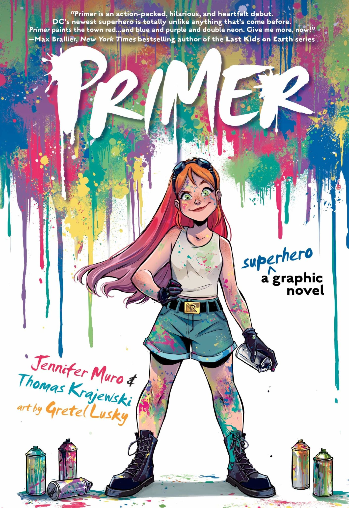 Primer, A Superhero Graphic Novel Novel