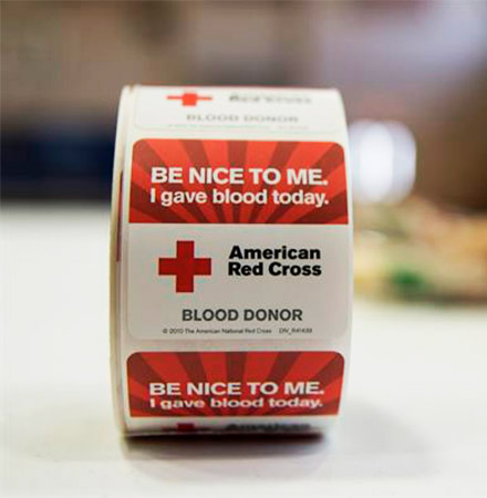 American Red Cross Bloodmobile Drive