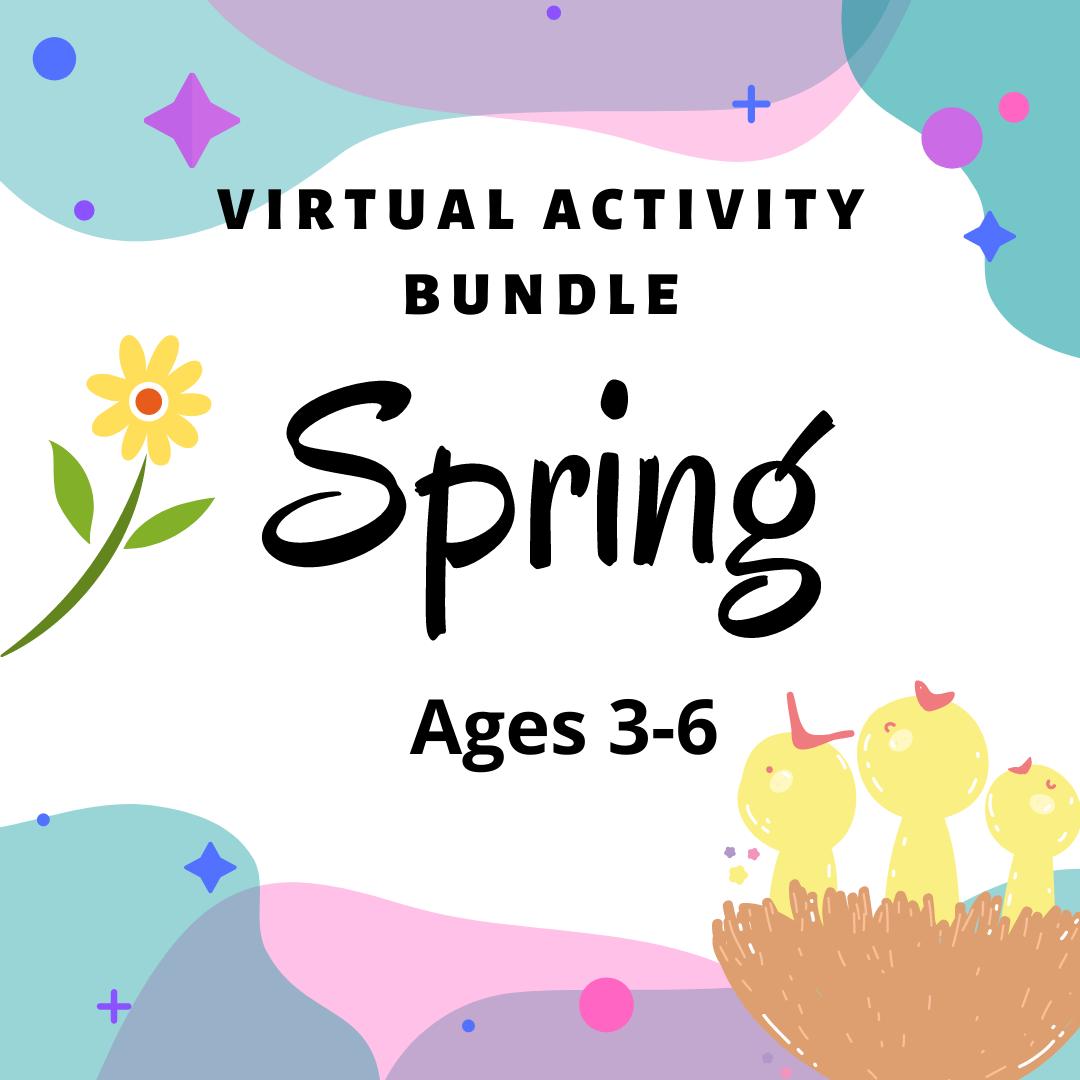 Virtual Activity Bundle: Spring