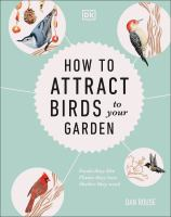 How to attract birds book cover