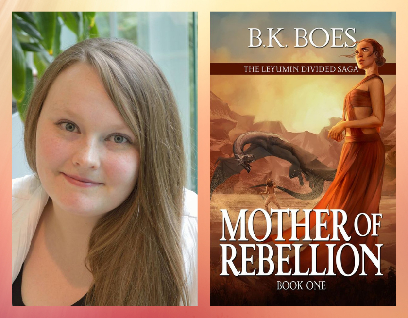B.K. Boes and Mother of Rebellion book cover