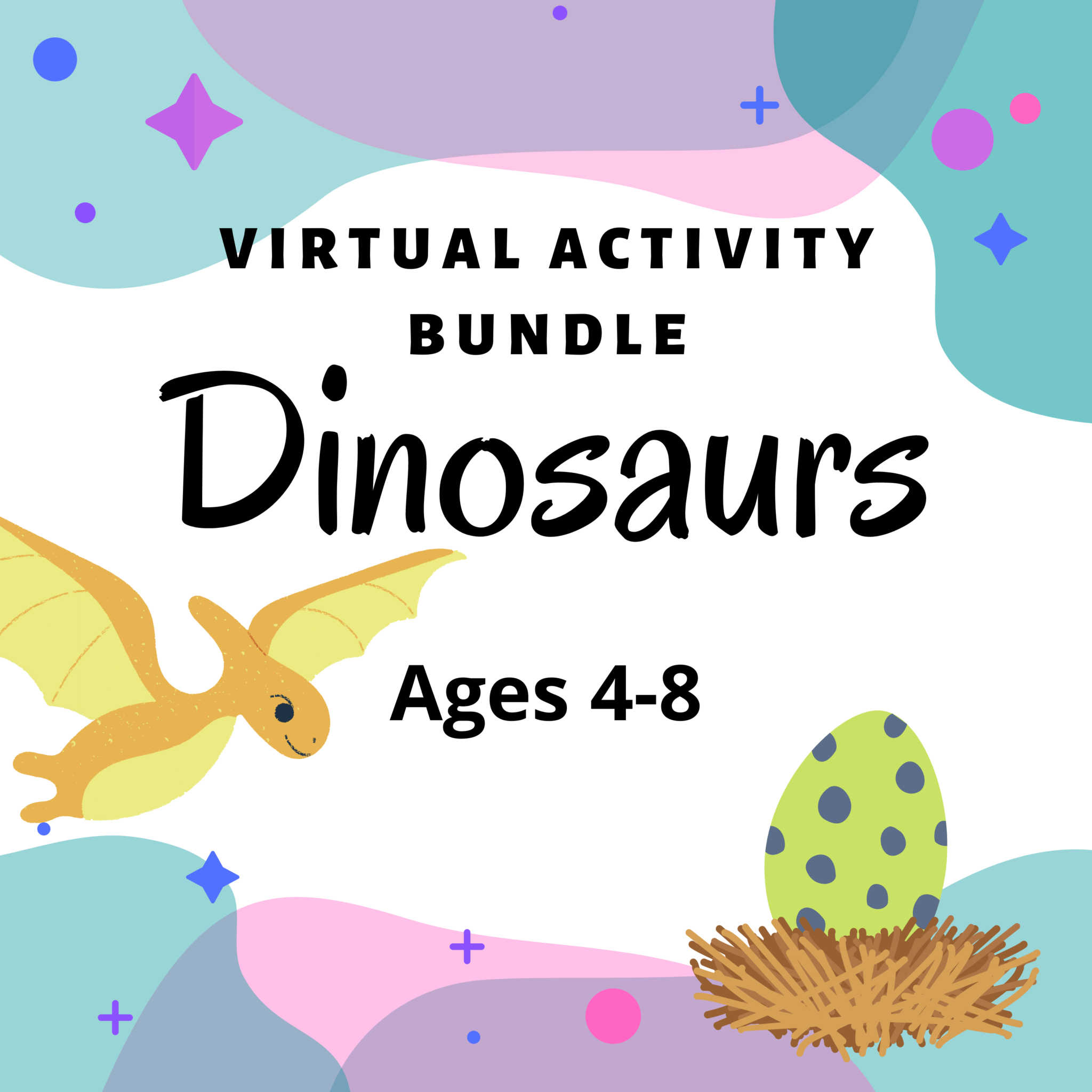 Virtual Activity Bundle: Dinosaurs