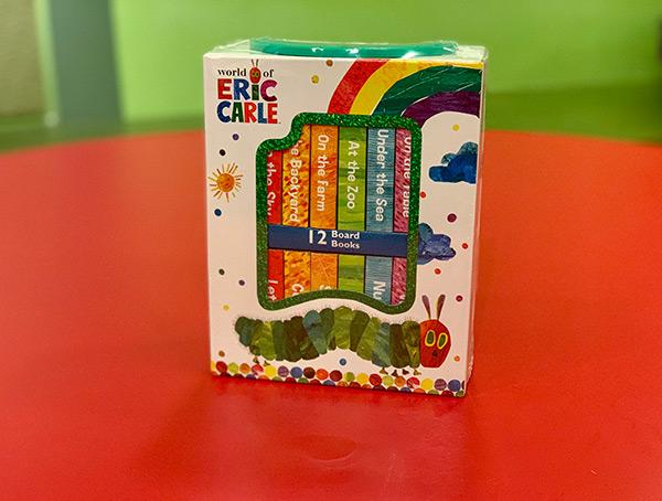 World of Eric Carle 12 Board Book Box Set