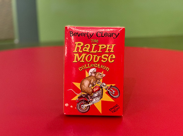 The Ralph Mouse Collection book set