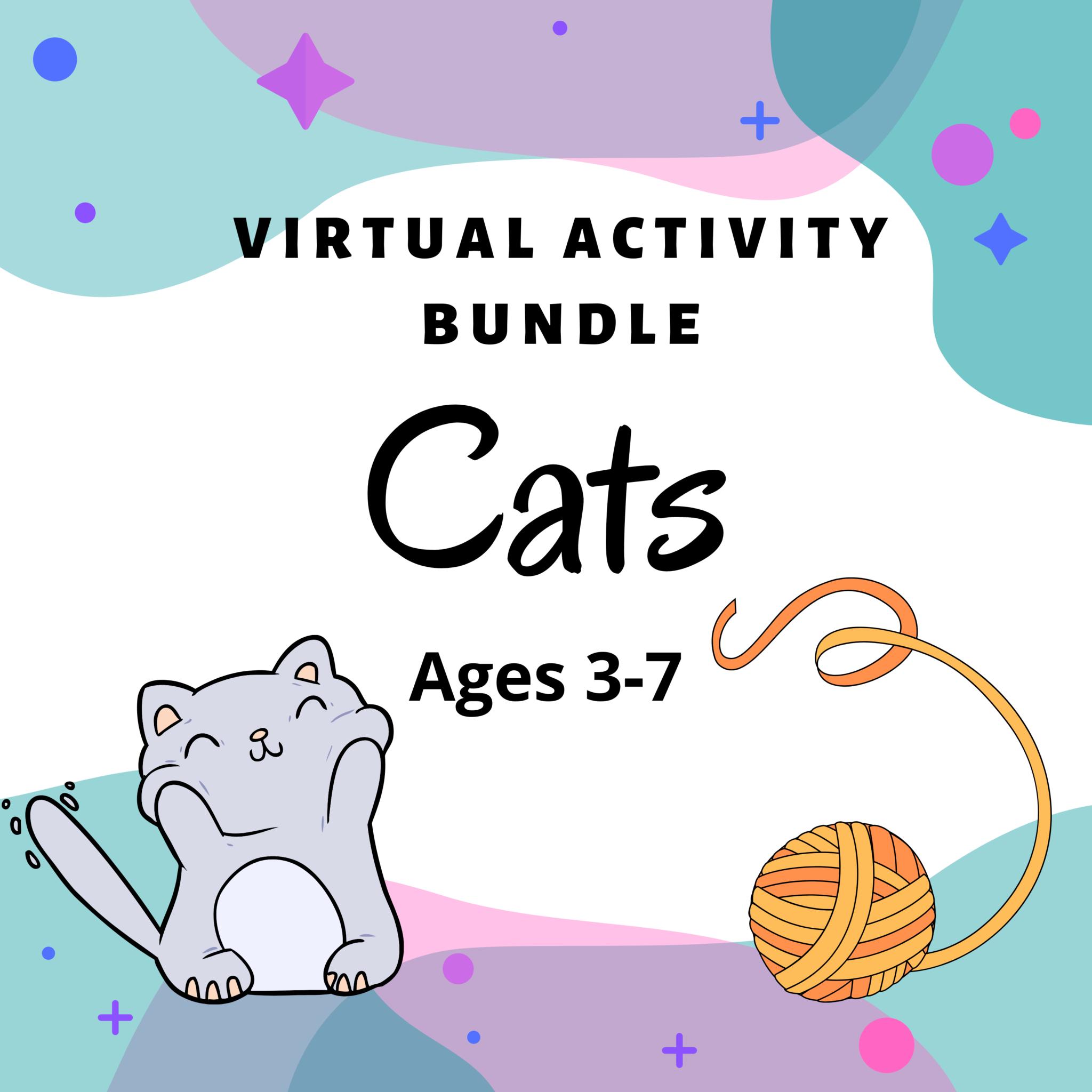 Virtual Activity Bundle Cats