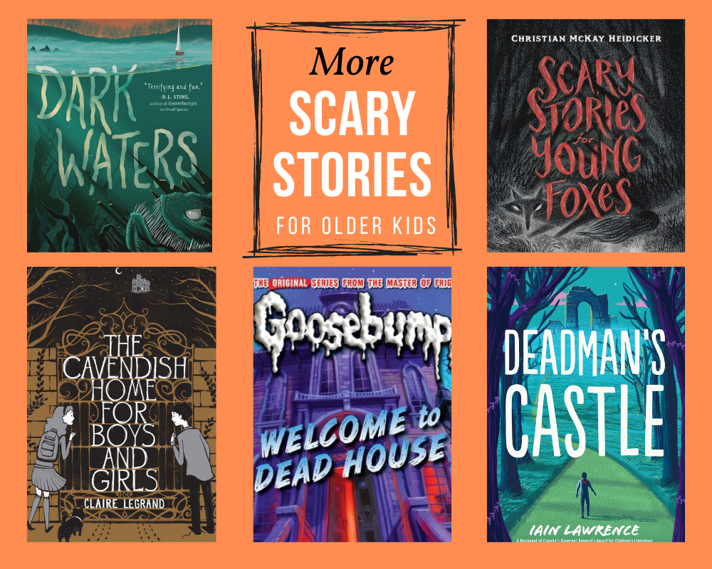 More Scary Stories for Older Kids
