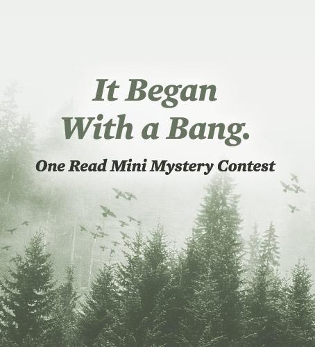 Mini Mystery Writing Contest