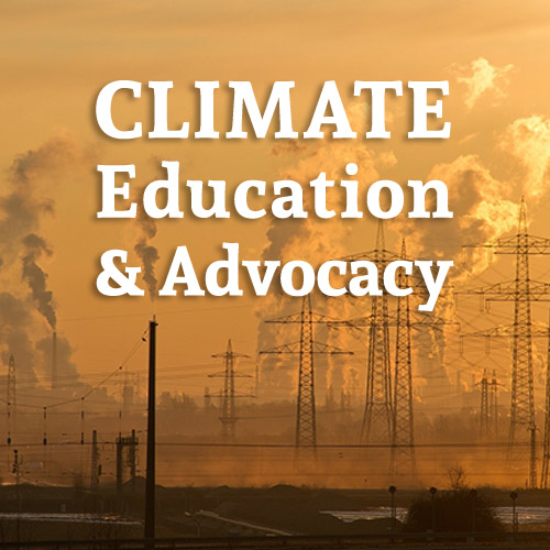 Climate Education and Advocacy Workshop